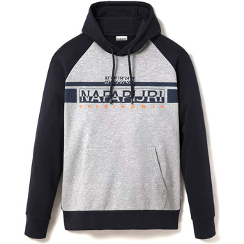 textil Herr Sweatshirts Napapijri NP0A4ENB Grå