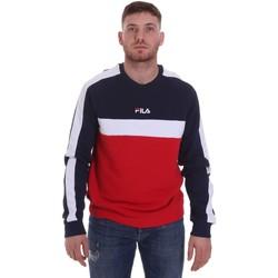 textil Herr Sweatshirts Fila 687986 Blå