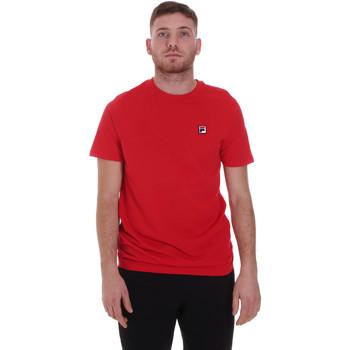 textil Herr T-shirts Fila 682393 Röd