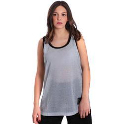 textil Dam Linnen / Ärmlösa T-shirts Converse 10007415 Grå