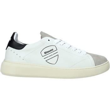 Skor Herr Sneakers Blauer F0KEITH02/LES Vit