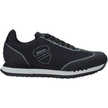 Skor Herr Sneakers Blauer F0DENVER06/NYL Svart