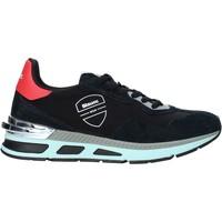 Skor Herr Sneakers Blauer F0HILOXL02/NYL Svart