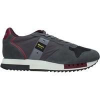 Skor Herr Sneakers Blauer F0QUEENS01/CAM Grå
