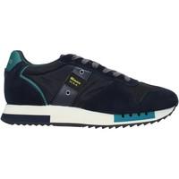 Skor Herr Sneakers Blauer F0QUEENS01/CAM Blå