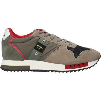 Skor Herr Sneakers Blauer F0QUEENS01/CAM Grön