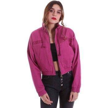 textil Dam Jackor Karl Kani KRCKKWQ32042DPNK Violett