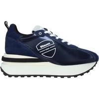 Skor Herr Sneakers Blauer F0MABEL01/NYL Blå