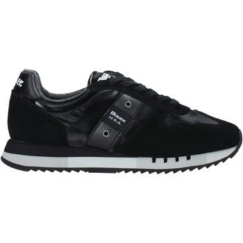 Skor Herr Sneakers Blauer F0MELROSE01/NYL Svart