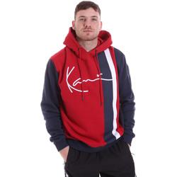 textil Herr Sweatshirts Karl Kani KRCKKMQ32005DRED Röd