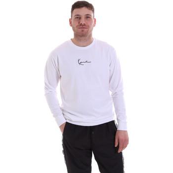 textil Herr Sweatshirts Karl Kani KRCKKMQ22002WHT Vit