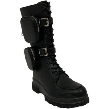 Skor Dam Boots Gold&gold B20 GA639 Svart