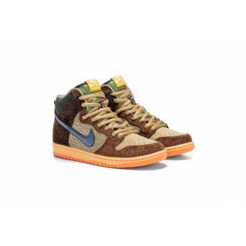 Skor Sneakers Nike SB Dunk High x Concepts