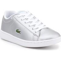Skor Barn Sneakers Lacoste kids 7-34SPC0006334 silver