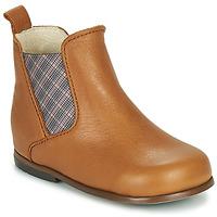 Skor Flickor Boots Little Mary ARON Brun