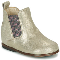 Skor Flickor Boots Little Mary ARON Silver