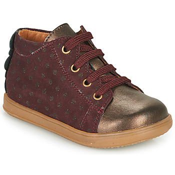 Skor Flickor Sneakers Little Mary CLELIE Bordeaux