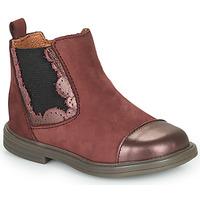 Skor Flickor Boots Little Mary ELVIRE Bordeaux