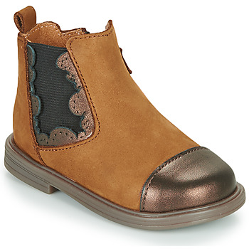 Skor Flickor Boots Little Mary ELVIRE Brun