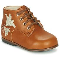 Skor Flickor Höga sneakers Little Mary MEIGE Brun