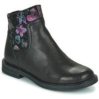 Skor Flickor Boots Little Mary ELIETTE Svart