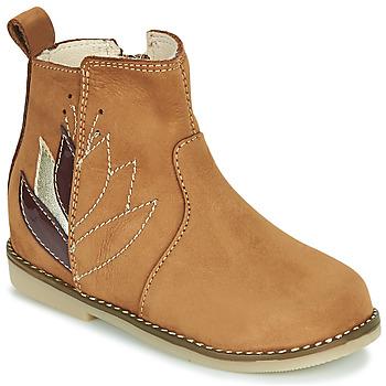 Skor Flickor Boots Little Mary KARRY Brun