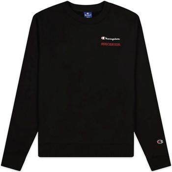 textil Dam Sweatshirts Champion 114712 Svart