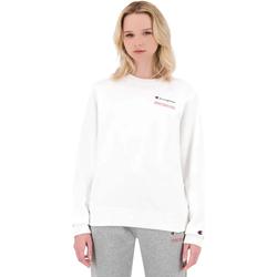 textil Dam Sweatshirts Champion 114712 Vit