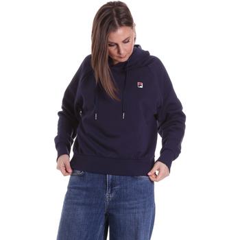 textil Dam Sweatshirts Fila 687272 Blå