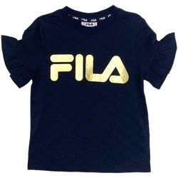 textil Flickor T-shirts Fila 688038 Blå