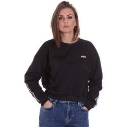 textil Dam Sweatshirts Fila 687693 Svart