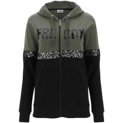 textil Dam Sweatshirts Freddy F0WCLS5 Grön