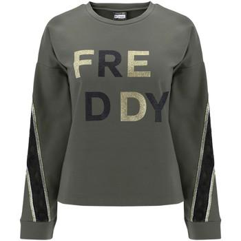 textil Dam Sweatshirts Freddy F0WSDS5 Grön