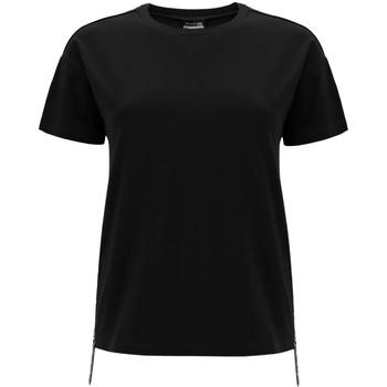 textil Dam T-shirts Freddy F0WSDT5 Svart