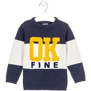 textil Barn Tröjor Losan 025-5005AL Blå