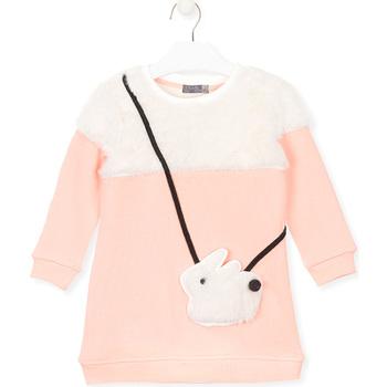 textil Flickor Sweatshirts Losan 026-7007AL Rosa