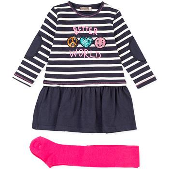 textil Barn Set Losan 026-8031AL Blå