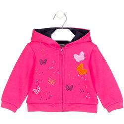 textil Flickor Sweatshirts Losan 028-6017AL Rosa
