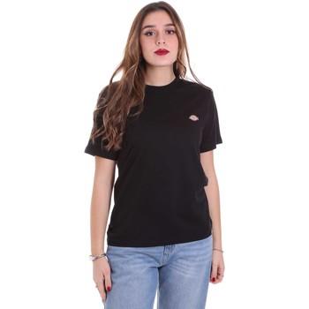 textil Dam T-shirts Dickies DK0A4TMYBLK1 Svart
