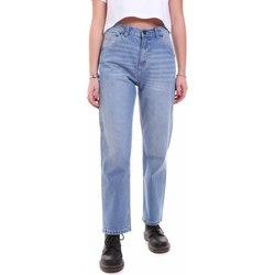 textil Dam Jeans boyfriend Dickies DK133004LBL1 Blå