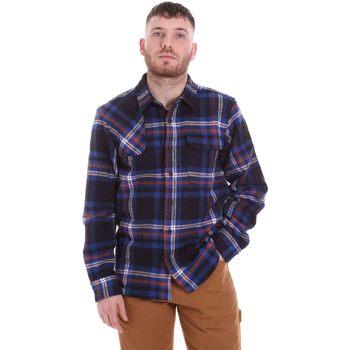 textil Herr Långärmade skjortor Dickies DK520352EL01 Blå