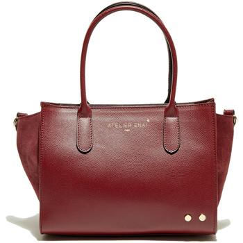 Väskor Dam Handväskor med kort rem Atelier Enai LEXIE BORDEAUX