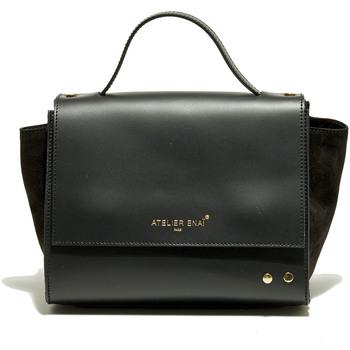 Väskor Dam Handväskor med kort rem Atelier Enai JOYCE NOIR