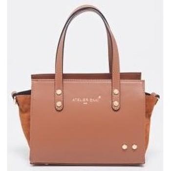 Väskor Dam Handväskor med kort rem Atelier Enai MINI CANDI CAMEL