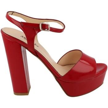 Skor Dam Sandaler L'amour  Rojo