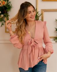 textil Dam Blusar Céleste ROSSIGNOL Rosa