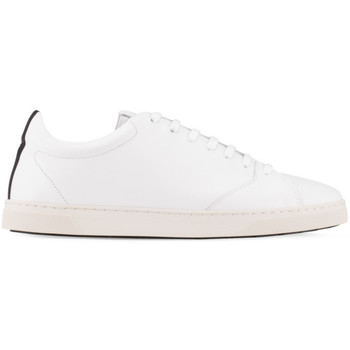 Skor Herr Sneakers Oth Baskets  Gravière White Recycled Leather / White Sole blanc