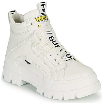 Skor Dam Boots Buffalo ASPHA NC MID Vit