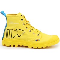 Skor Dam Höga sneakers Palladium Manufacture Pampa Dare Rew Fwd Gula