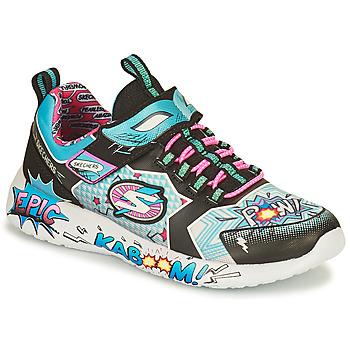 Skor Flickor Sneakers Skechers DYNAMIGHT/HERO STATUS Flerfärgad